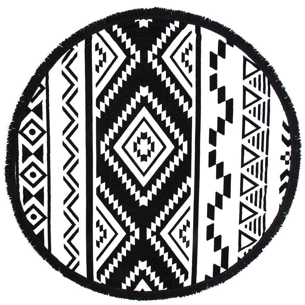 Tara Round Towel