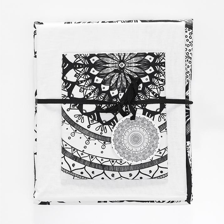 Mandala Duvet Cover by Aslıhan Aksun