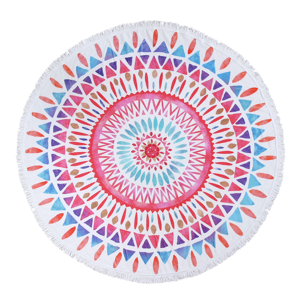 Sunshine Round Towel